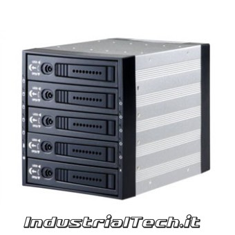 JOUJYE Backplane per 5 hd 3,5